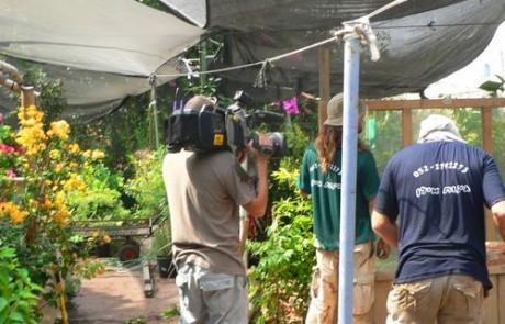 הקמת גינה עם ערוץ 10